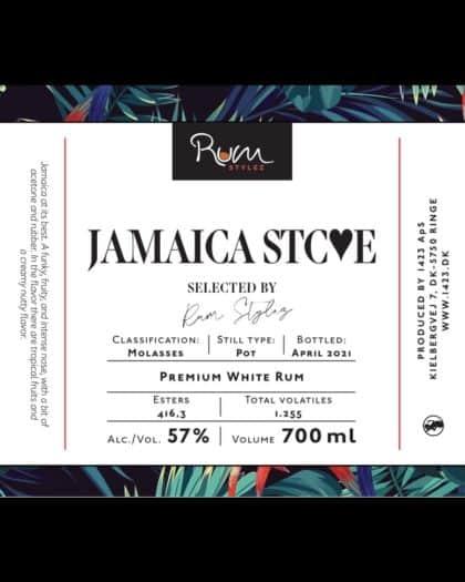 Rum Stylez Jamaica STCE Premium White Rum