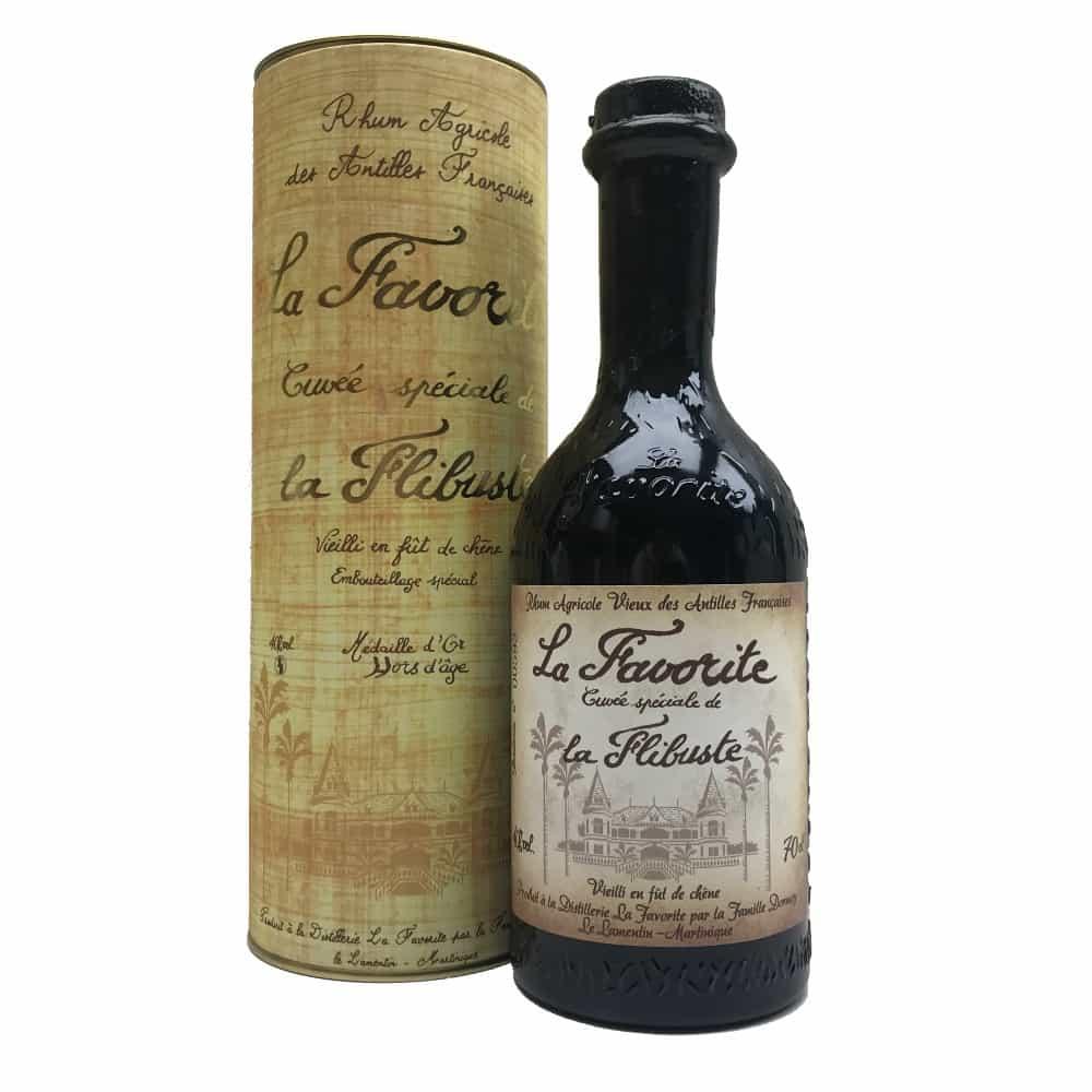 Rhum La Favorite Cuvée Speciale de la Flibuste 1998 70cl 40%Vol.