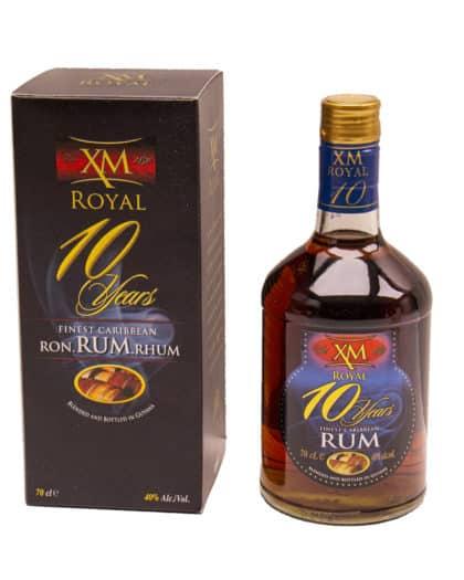 XM 10 Years Old Royal Gold Demerara Rum 70cl 40%Vol