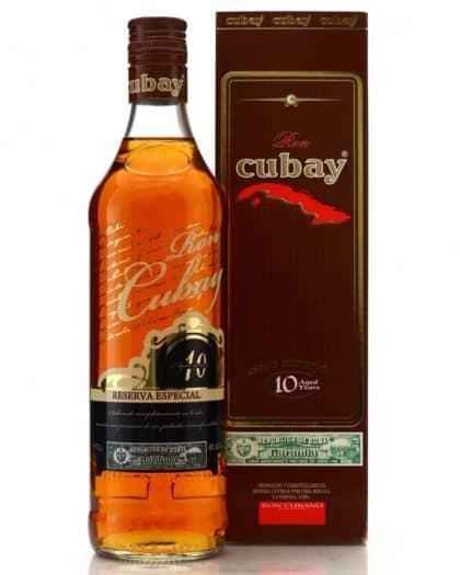 Ron Cubay Reserva Especial 10 anos 40% 70cl