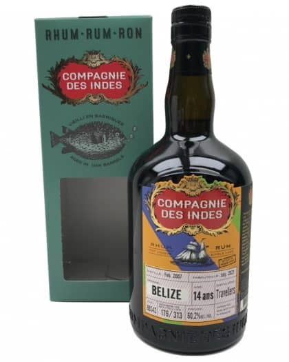 Compagnie Des Indes Belize 14 Ans Travellers Cask Strength for Premium Spirits 60,2%Vol