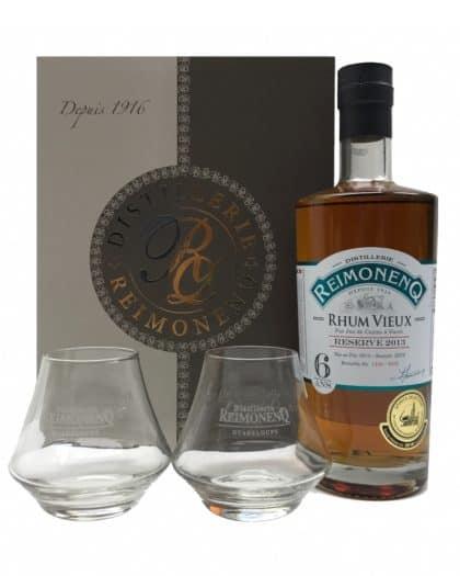 Reimonenq 6 Ans Reserve 2013 coffret 2 verres