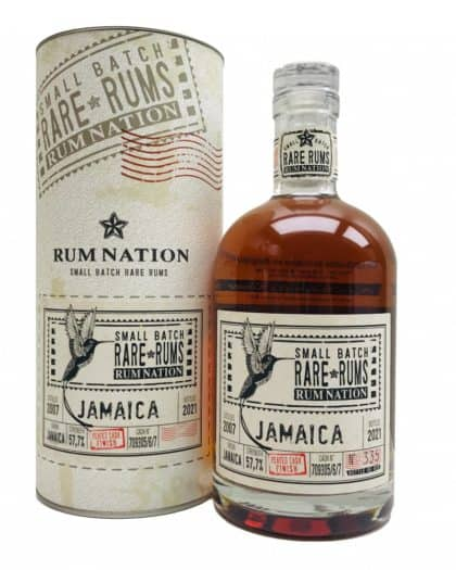 Rum Nation Rare Jamaica 2007 2021 Peated cask Finish 70cl 57,7%Vol