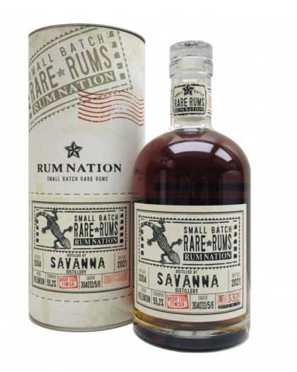 Rum Nation Rare Savanna 2004 2021 Whisky Cask Finish 70cl 55,2%Vol